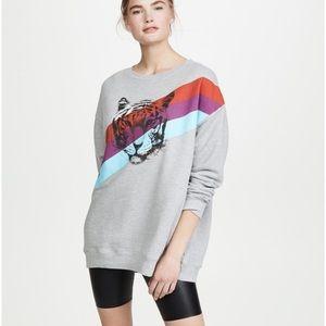 NEW Wildfox Tiger Stripes Sweatshirt Joe Exotic 🌿